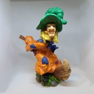 Halloween Ceramic Witch